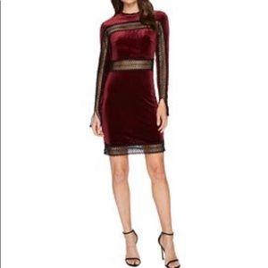 NWT Romeo & Juliet Couture Velvet Dress
